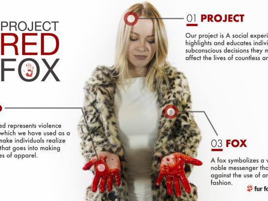 Respect For Animals Integrated Ad - #ProjectRedFox