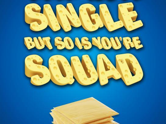 Kraft Print Ad - Squad