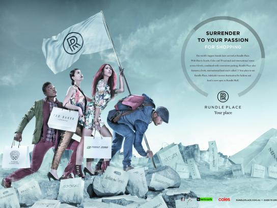 Rundle Place Print Ad -  Surrender