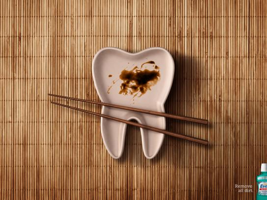 Even Print Ad -  Sushi