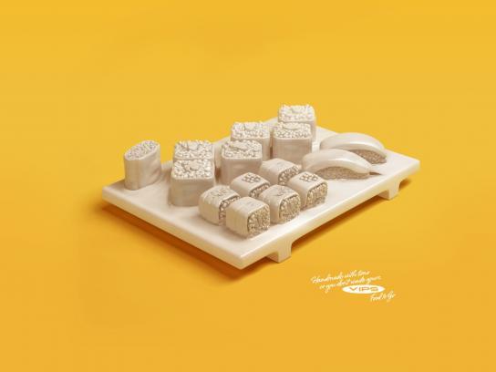 VIPS Print Ad -  Sushi