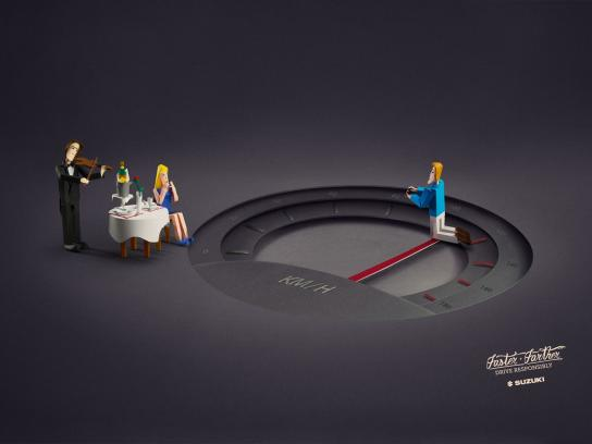Suzuki Print Ad -  Proposal