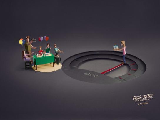 Suzuki Print Ad -  Birthday