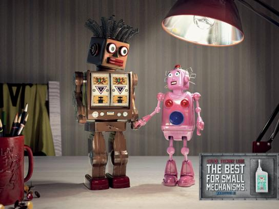 Svitol Print Ad -  Toy Robots, 1