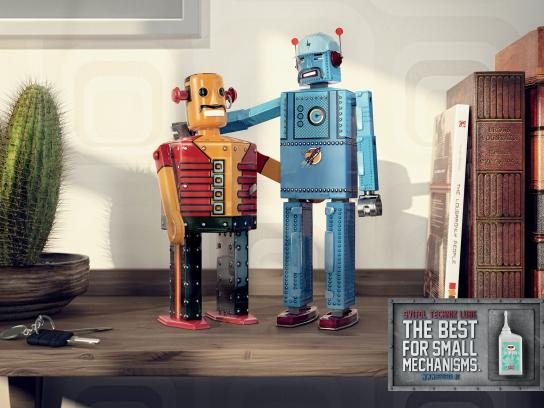 Svitol Print Ad -  Toy Robots, 2