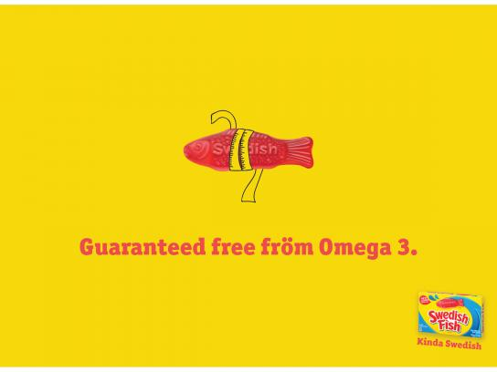 Swedish Fish Print Ad - Kinda Swedish, 2