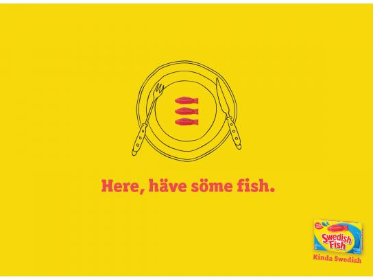 Swedish Fish Print Ad - Kinda Swedish, 3