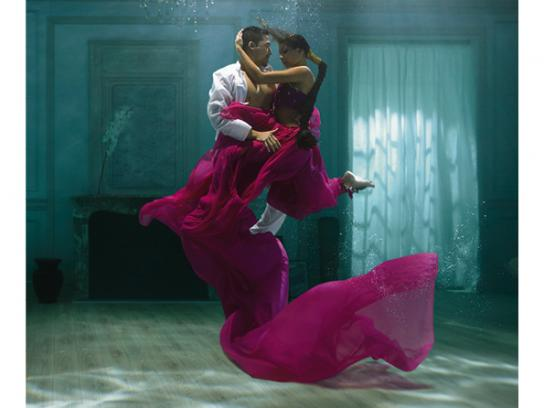 Kusmi Tea Print Ad -  The beauty of blends, Sweet Love