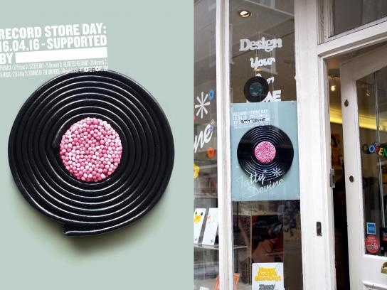 Record Store Day Outdoor Ad -  Sweet