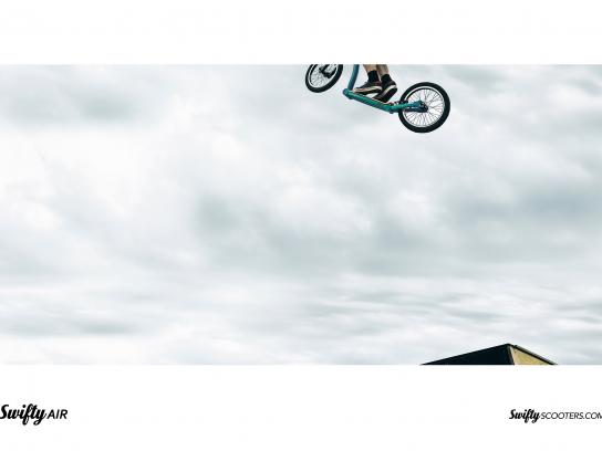 Swifty Scooters Print Ad - Air