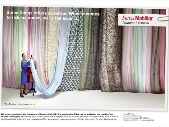 Swiss Mobiliar Print Ad -  Risk, 1