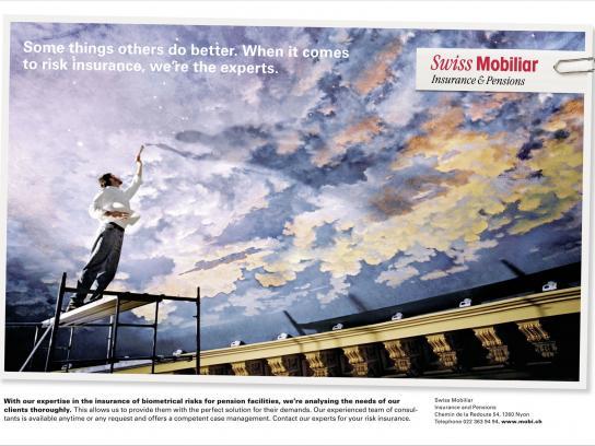 Swiss Mobiliar Print Ad -  Risk, 2