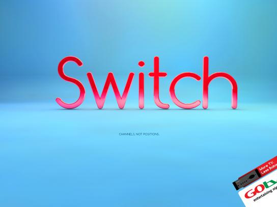 GOtv Print Ad -  Switch