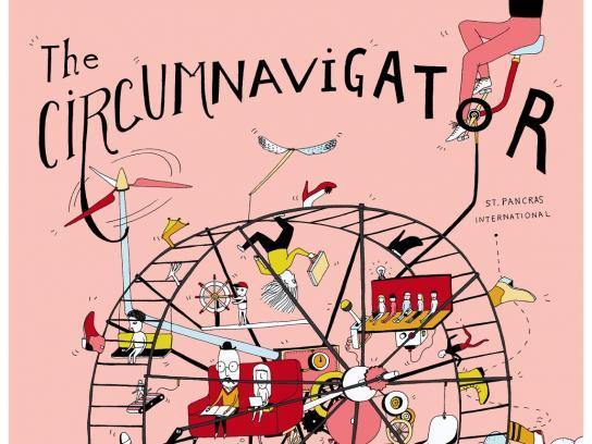 Commuters of Kent Print Ad - The Circumnavigator