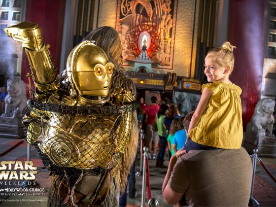 Walt Disney Parks and Resorts Outdoor Ad -  C3PO