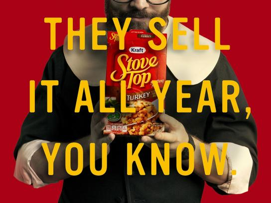 Stove Top Print Ad -  All year