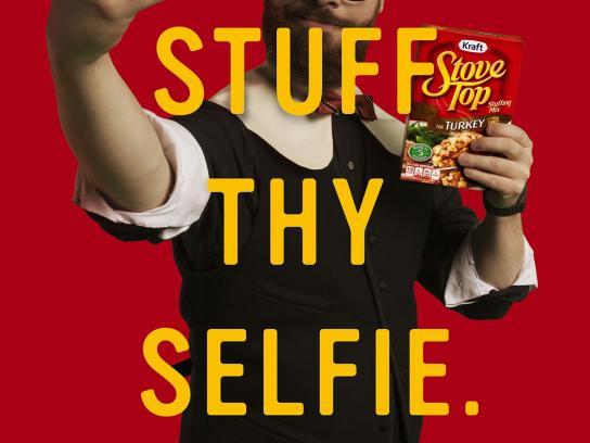 Stove Top Print Ad -  Selfie