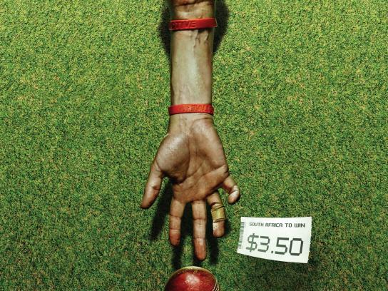 TAB Print Ad -  Cricket
