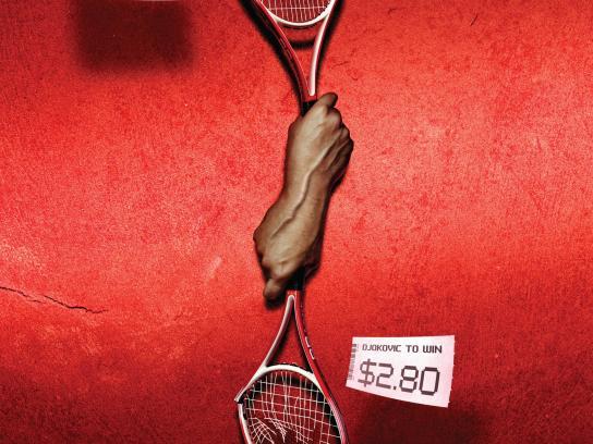 TAB Print Ad -  Tennis