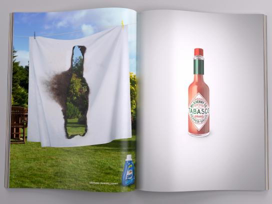 Tabasco Print Ad -  Sheet