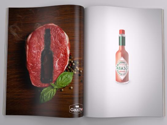 Tabasco Print Ad -  Steak