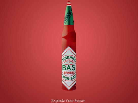Tabasco Print Ad - Senses, 1