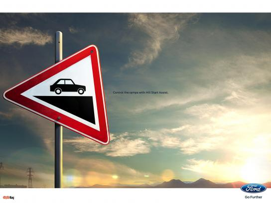 Ford Print Ad - Sign