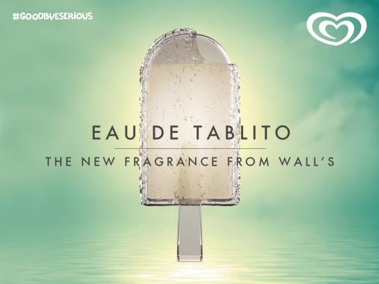 Wall's Print Ad -  Eau De Ice Cream, 3