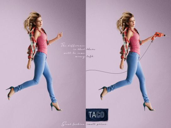 Taco Print Ad -  Difference, 1