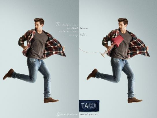 Taco Print Ad -  Difference, 2
