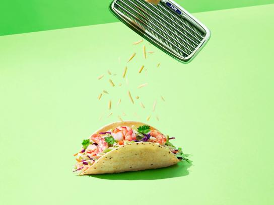 Canadian Food Truck Festival Print Ad - Taco