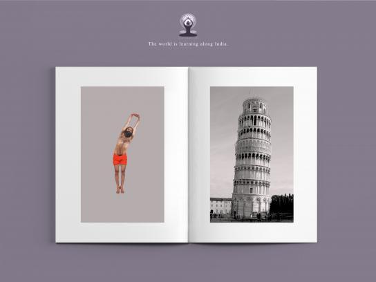 International Yoga Day Print Ad - Tadasana