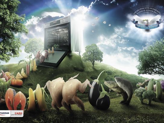 AEG Print Ad -  Noah's Ark