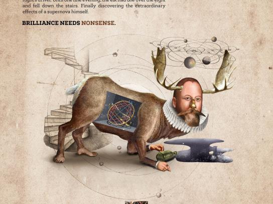 Taiberg Print Ad -  Tycho Brahe