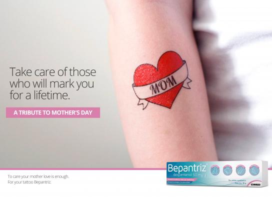 Bepantriz Print Ad - Mother Love