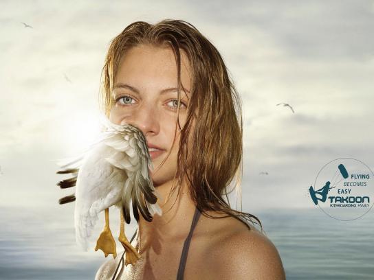 Takoon Print Ad -  Seagull