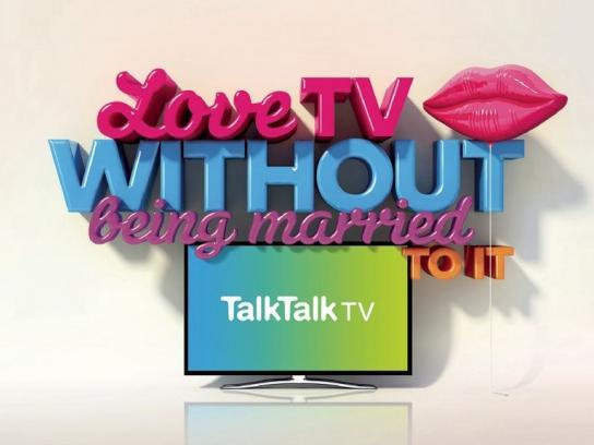 TalkTalk TV Print Ad -  Love
