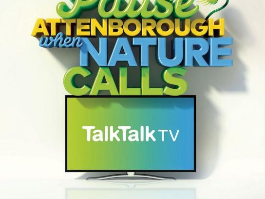 TalkTalk TV Print Ad -  Nature