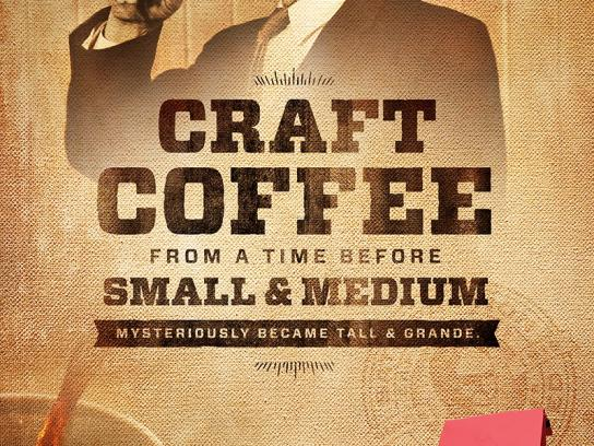 Community Coffee Print Ad -  Tall & Grande
