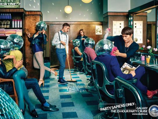 Tallink Silja Print Ad -  Discoheads, 1
