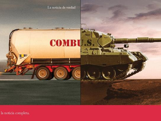 La Republica Print Ad -  Real news, 4
