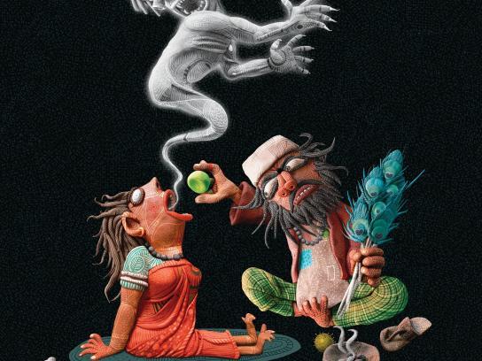 Mentos Print Ad -  Exorcism, 2