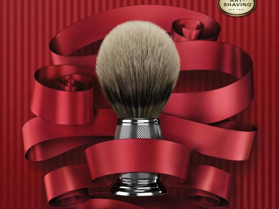 The Art of Shaving Print Ad -  Holiday Campaign, 2