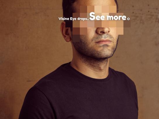 Visine Print Ad - See More.. - Tarek