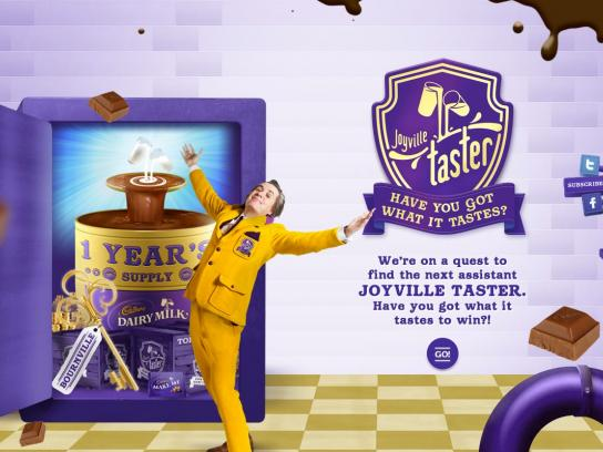 Cadbury Digital Ad -  Quest for the Joyville Taster