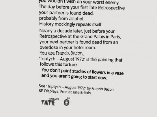 Tate Britain Outdoor Ad -  Triptych