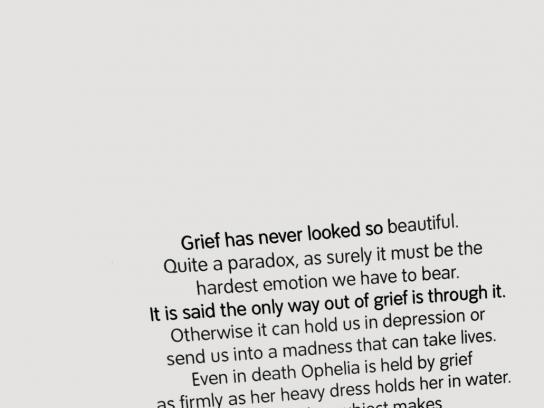 Tate Britain Outdoor Ad -  Ophelia