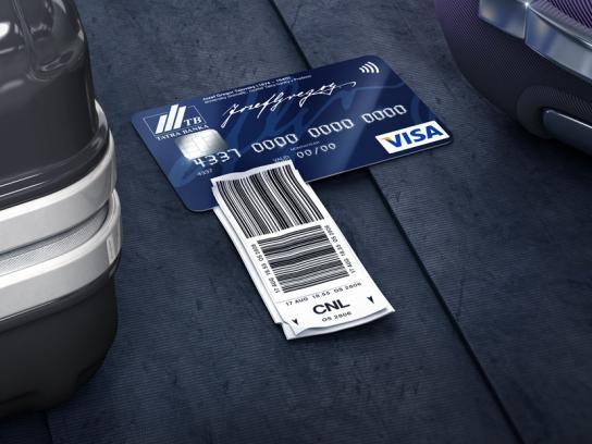 Tatra banka Print Ad -  Bare minimum