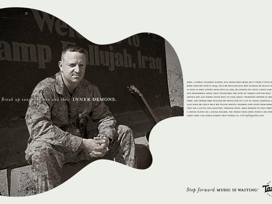 Taylor Guitars Print Ad -  Step forward, 3