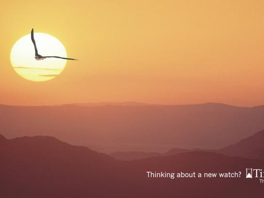 Time Center Print Ad -  Eagle